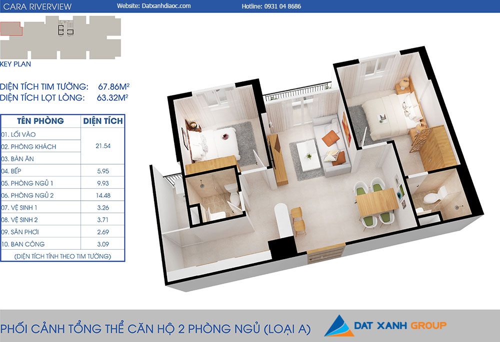 Can-ho-cara-riverview-2pn-67m20