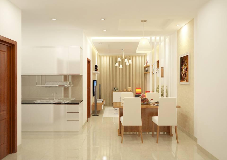 Phòng ăn tại nhà mẫu Sunview Town-mẫu 2