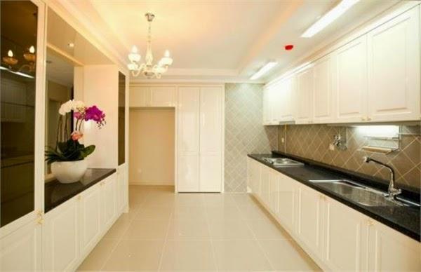 Phòng bếp tại Topaz City