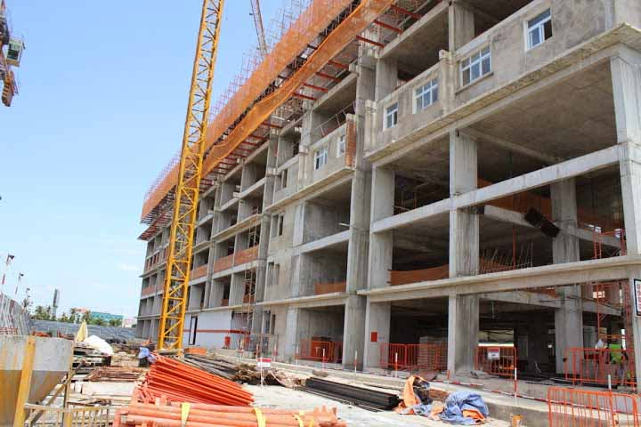 Tiến độ xây dựng Sunview Town-tháng 8/2014
