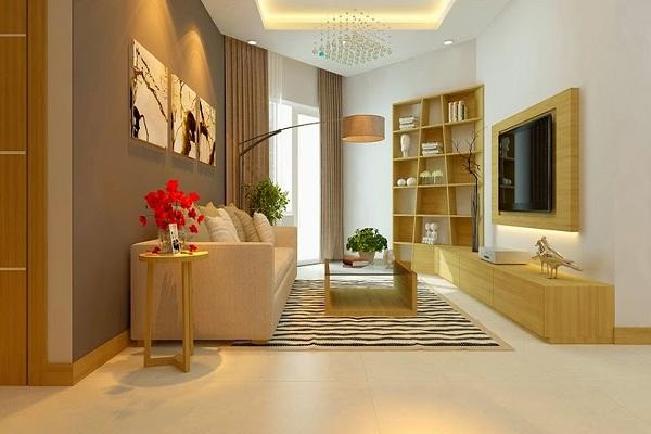 Căn hộ Luxcity - Phòng khách
