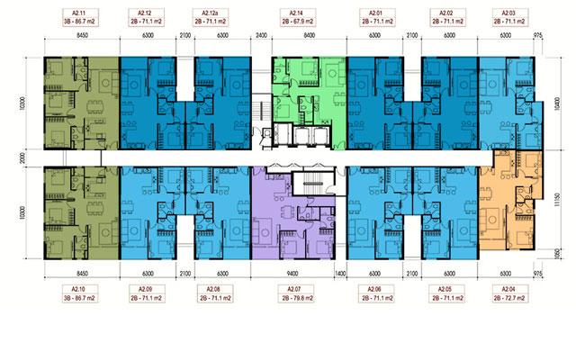 Căn hộ Opal Riverside - Block A2
