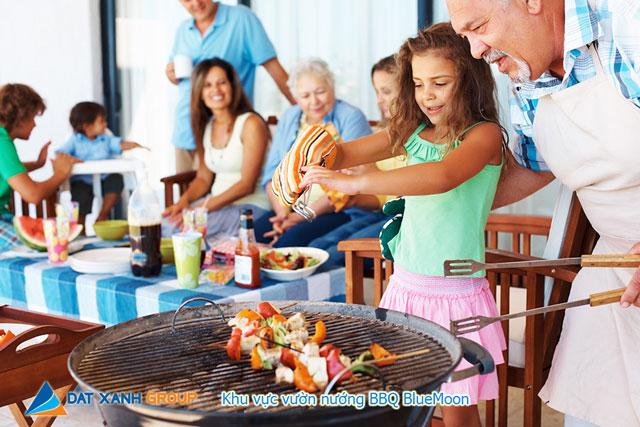 Tiện ích căn hộ Cara RiverView – Vườn nướng BBQ