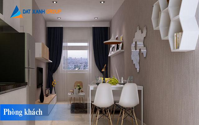 Phòng khách căn hộ Đạt Gia Residence Thủ Đức