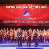 Đất Xanh nhận giải thường Sao Vàng Đất Việt 2015