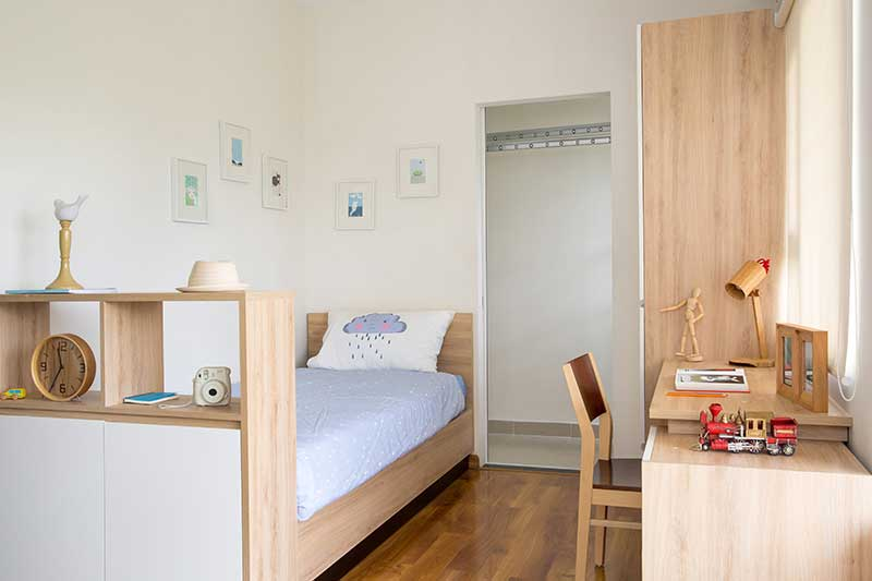 Căn hộ Flora Anh Đào - Phòng ngủ nhỏ