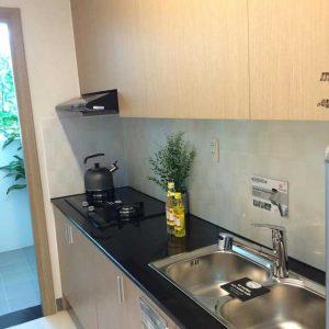 Nhà mẫu Saigon Metro Park - Phòng bếp