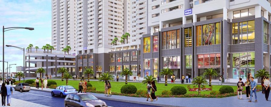 Prosper Plaza Tiện ích thương mại ngay tại dự án