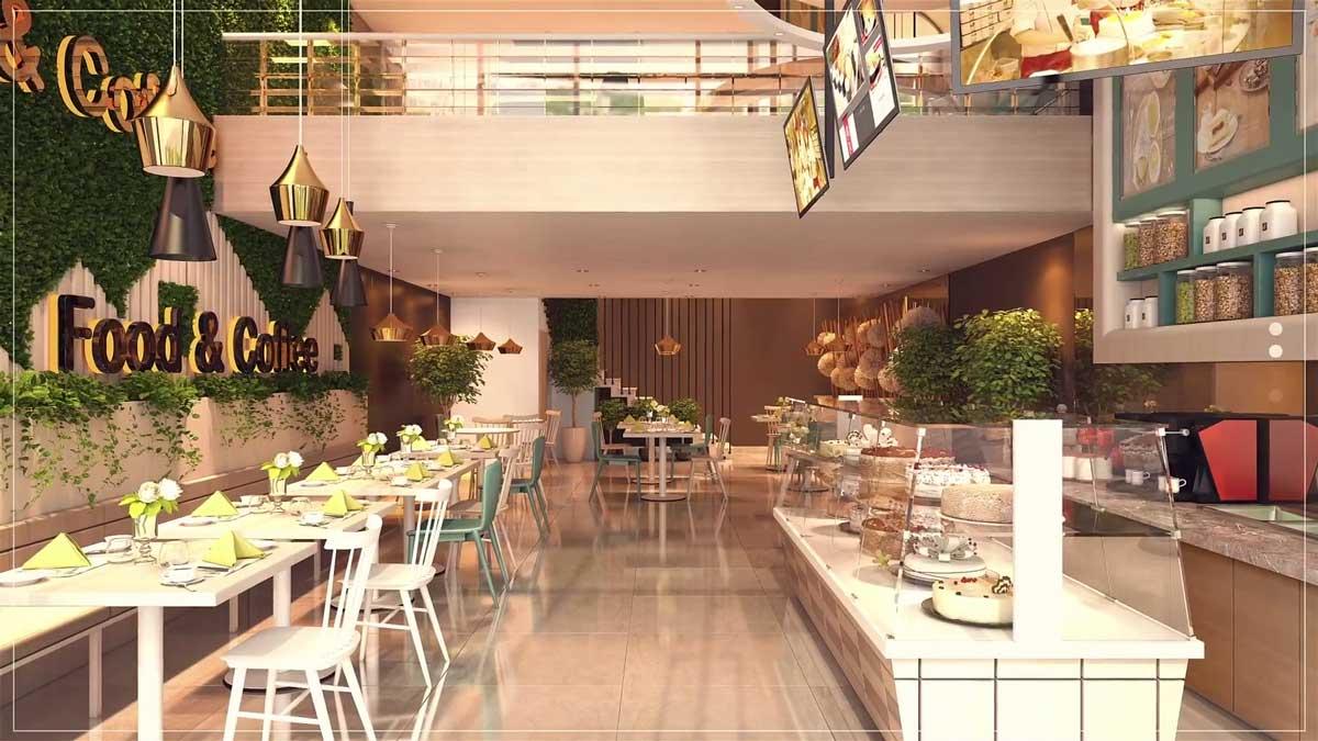 Tiện ích nhà hàng - Cà phê ngay tại dự án Prosper Plaza