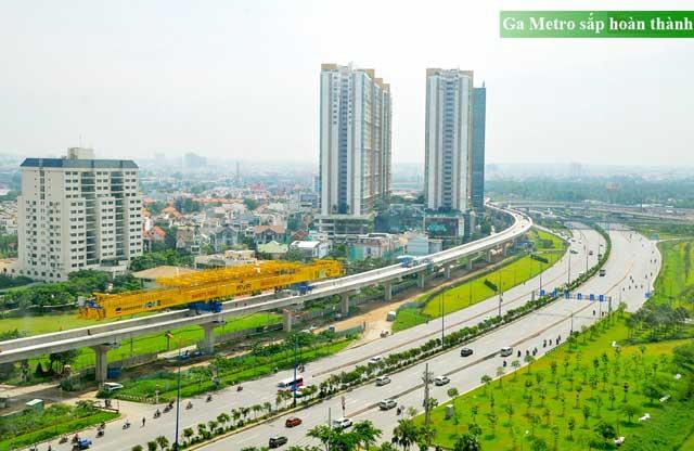 Ga Metro tại Sài Gòn Gateway