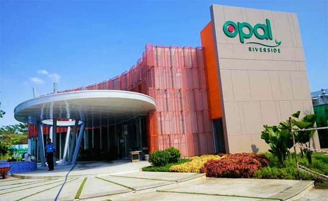 Khu nhà mẫu dự án căn hộ Opal City