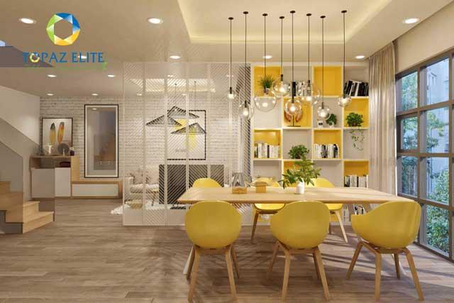 Căn hộ Topaz Elite - Phòng ăn