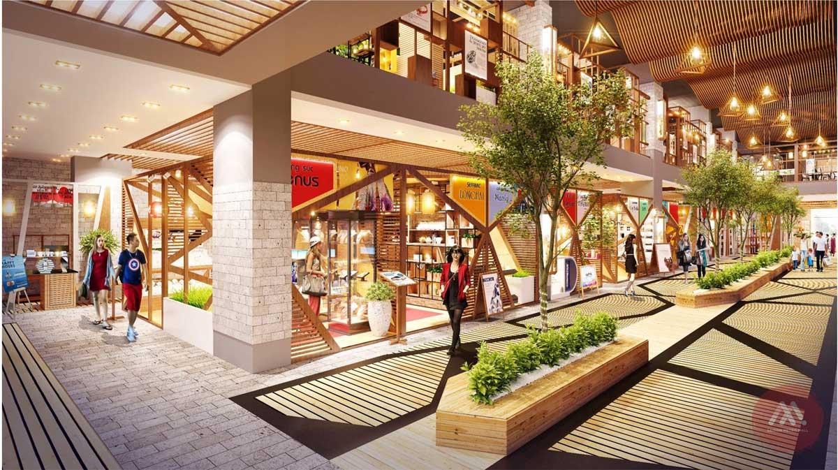 Saigon Metro mall - Phối cảnh mẫu 1