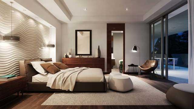 Phối cảnh phòng ngủ 1 tại Saigon Riverside City