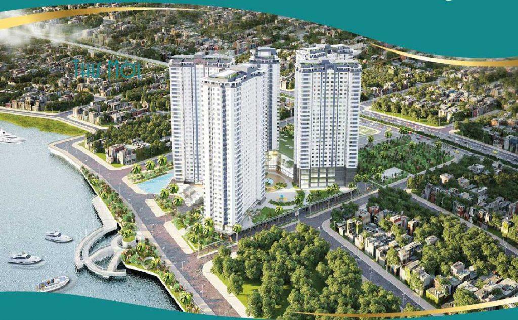 Phối cảnh căn hộ Saigon Riverside City