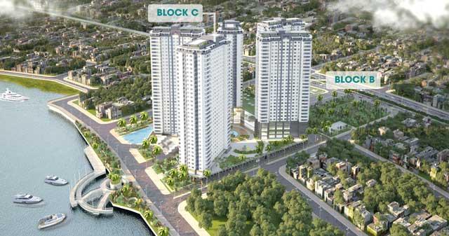 Căn hộ Saigon Riverside City - Phối cảnh tổng thể dự án
