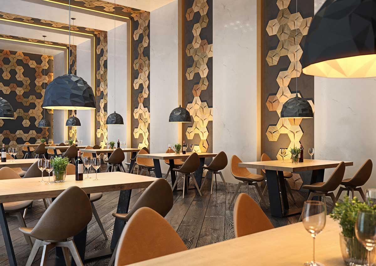 Khu vực nhà hàng tại dự án High Intela