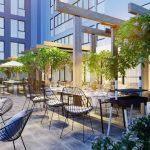 Căn hộ Aurora Riverside Quận 8 - khu cà phê sân vườn