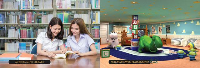 Căn hộ Aurora Riverside Quận 8 - Tiện ích phòng đọc sách