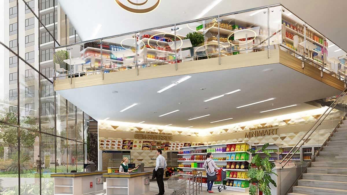 Dự án Gem Riverside - Hệ thống siêu thị Mini đa năng