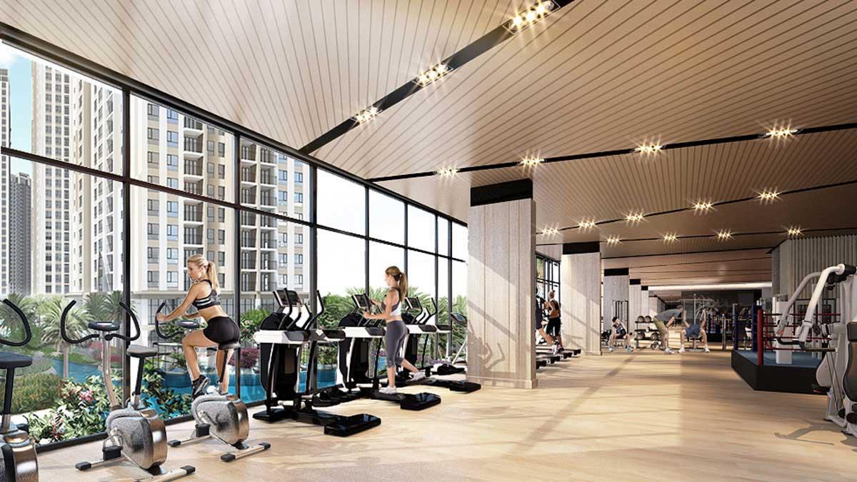 Gem Riverside Quận 2 - Phòng tập Gym đa năng