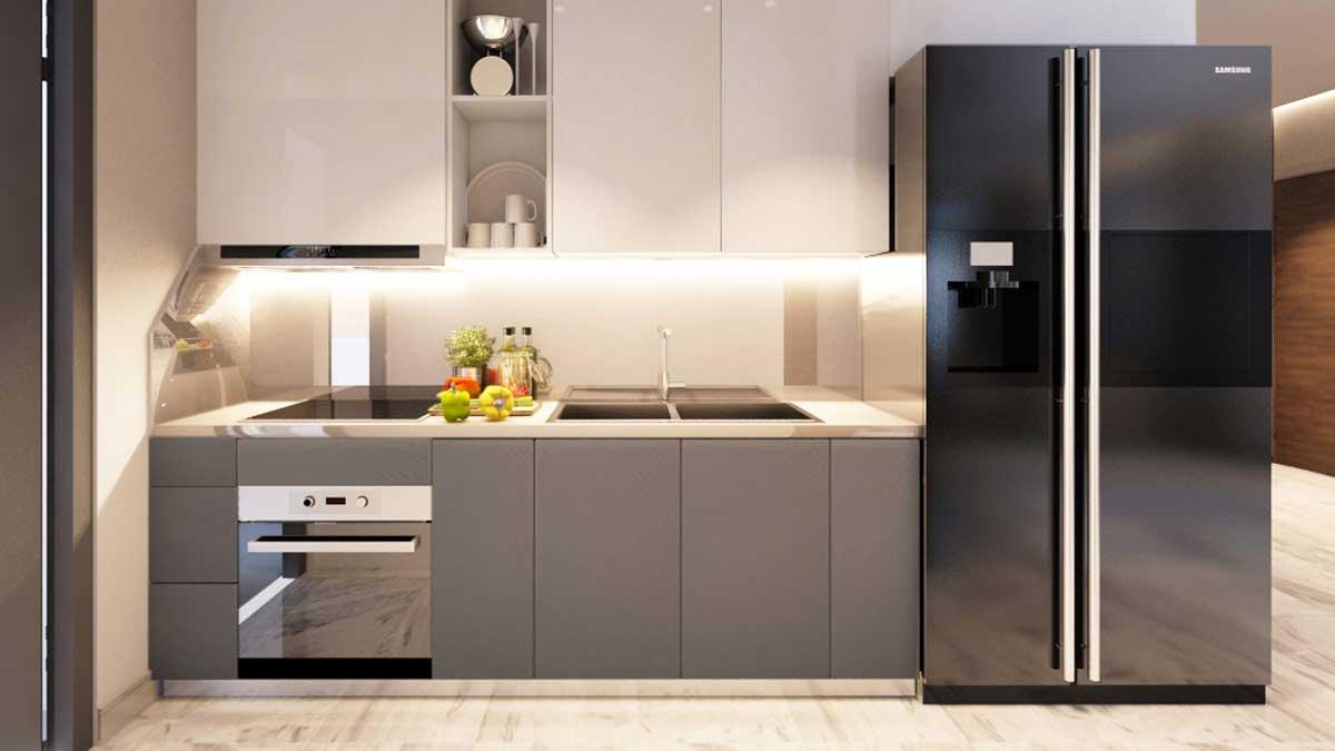 Nhà mẫu căn hộ Gem Riverside - Phòng bếp 1
