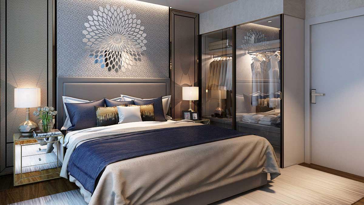 Nhà mẫu căn hộ Gem Riverside - Phòng ngủ 2