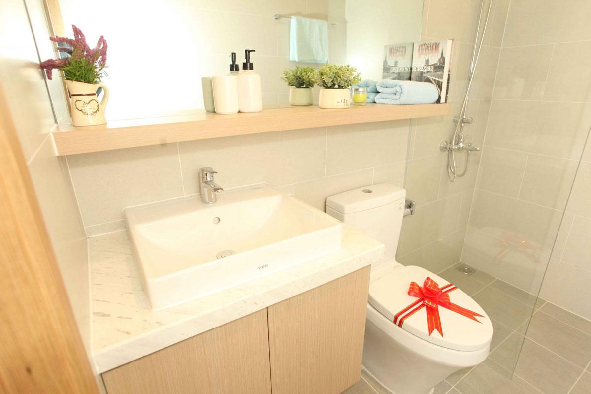 Phối cảnh phòng tắm căn hộ Aurora Riverside quận 8
