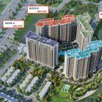 Phối cảnh dự án căn hộ Safira khang điền quận 9;