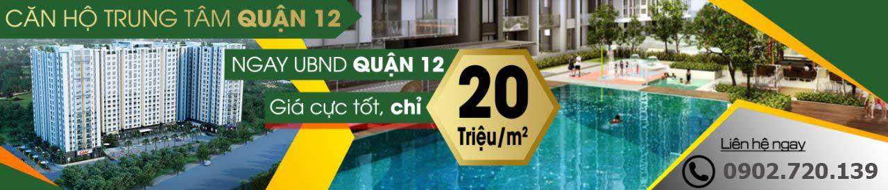 Căn hộ Green Mark Quận 12 -Banner Ngang;