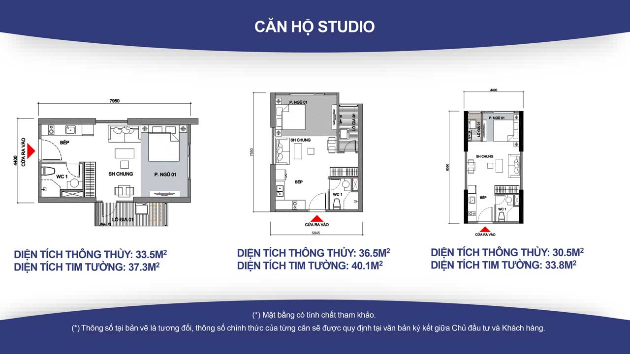 Thiết kế căn hộ Vinhomes Grand Park quận 9 -loại Studio