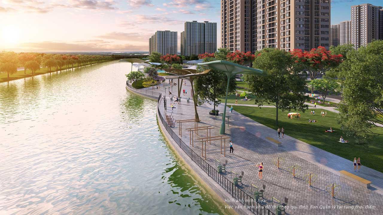 Tiện ich dự án Vincity Quận 9 -tiêu chuẩn Singapore
