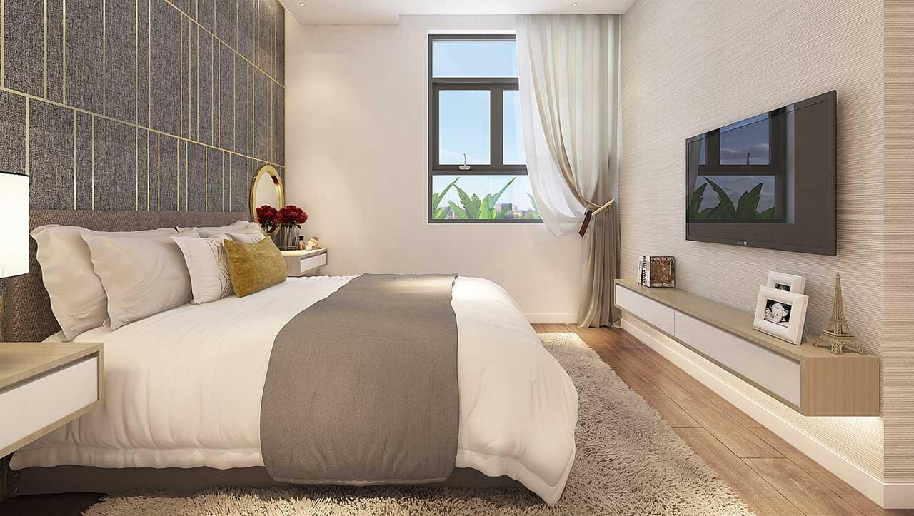 Căn hộ mẫu Green Mark-Phòng Ngủ Lớn