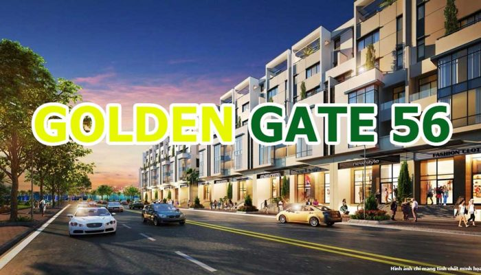 Dự án Golden Gate 56 Kinh Dinh Bà Rịa Vũng Tàu