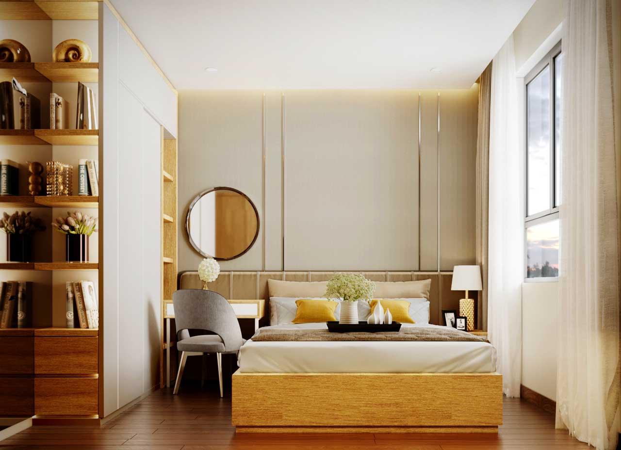 Nhà mẫu căn hộ Thạnh Xuân Quận 12-Phòng ngủ