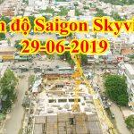 Tiến độ dự án Saigon Skyview Quận 8 ngày 29-06-2019