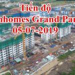 Tiến độ Vinhomes grand park quận 9 05-07-2019