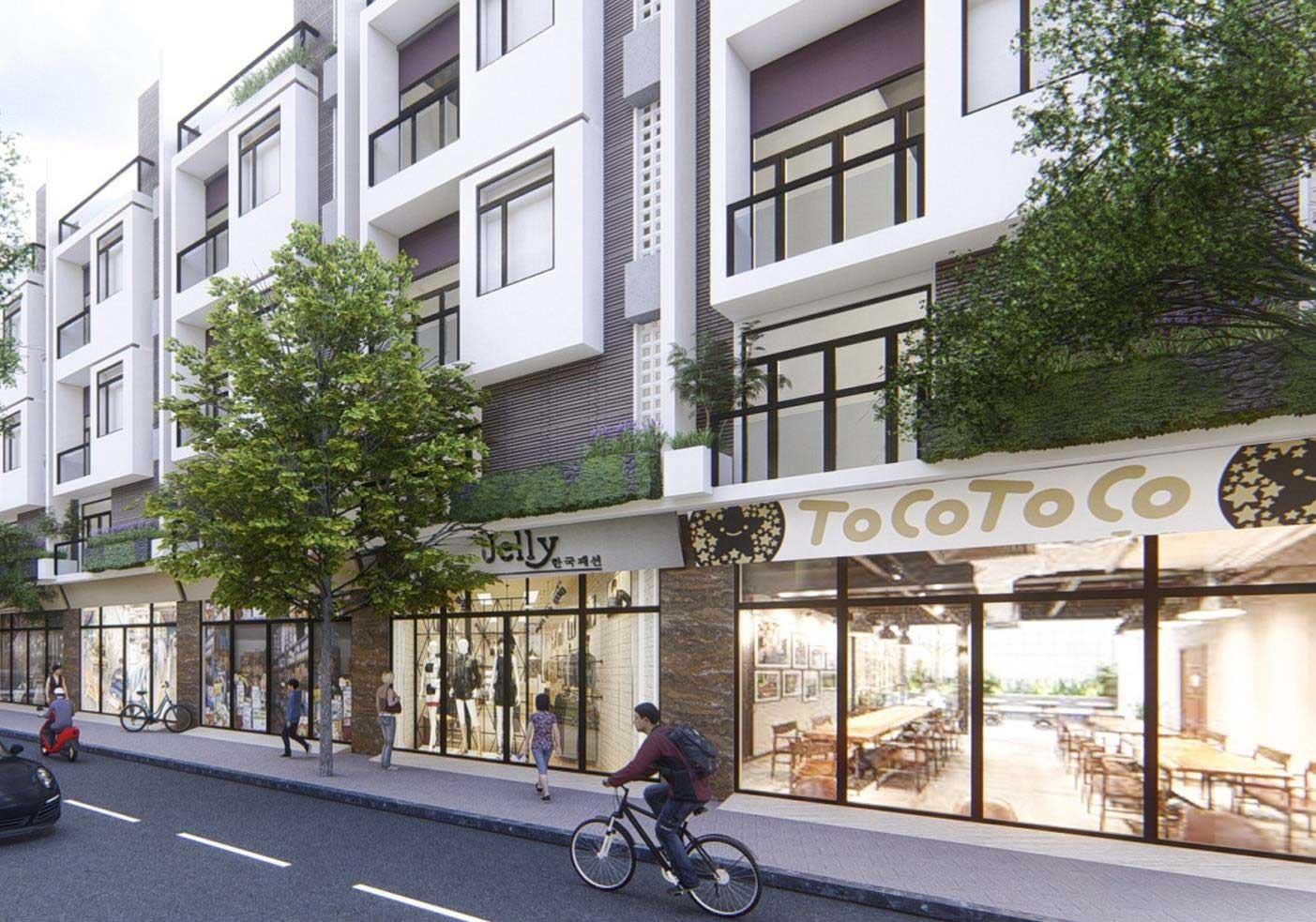 Thiết kế dự án hamilton Garden - nhà phố mẫu 02
