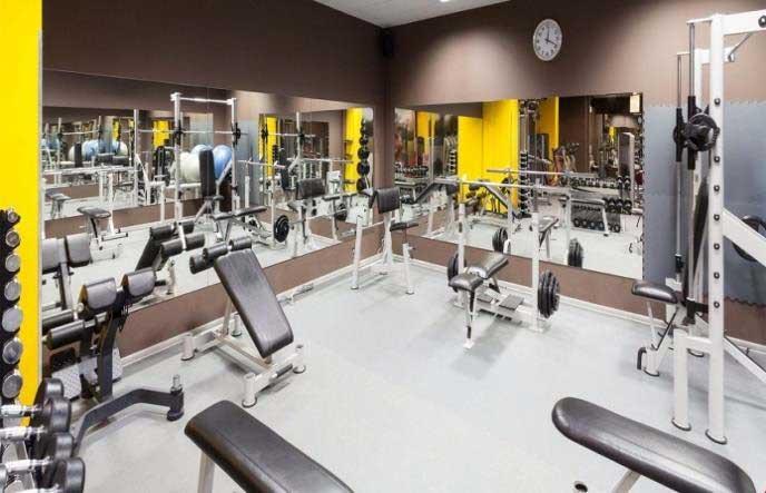Phòng tập Gym tại KDC Hamilton Garden