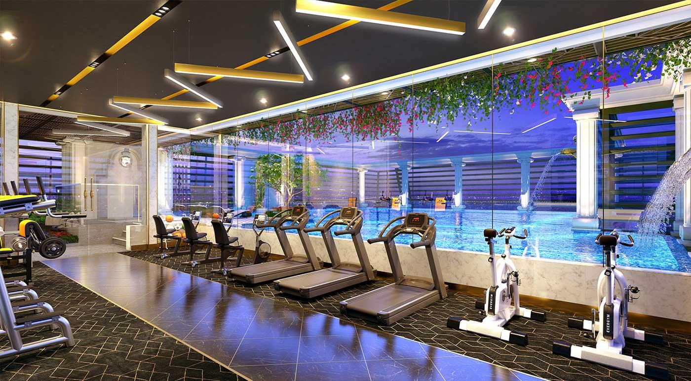 Tiện ích phòng tập Gym tại dự án Park View Bình Dương