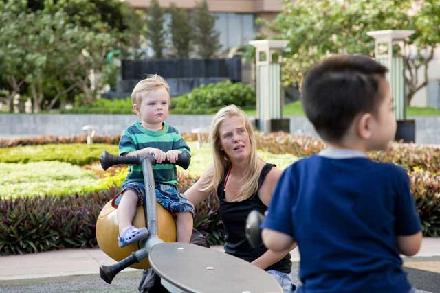 Tiện ích tại Opal Skyline - khu vui chơi trẻ em
