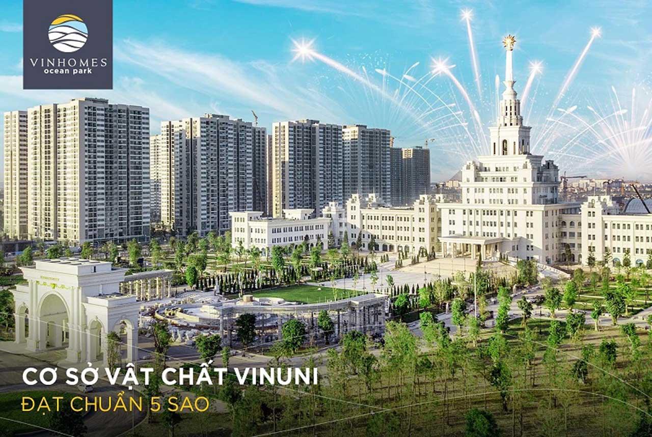 Cho thuê Căn hộ Vinhomes Ocean Park-đại học Vinuni 01