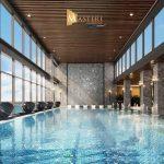 Bể bơi trong nhà tại dự án Masteri Waterfront Gia Lâm