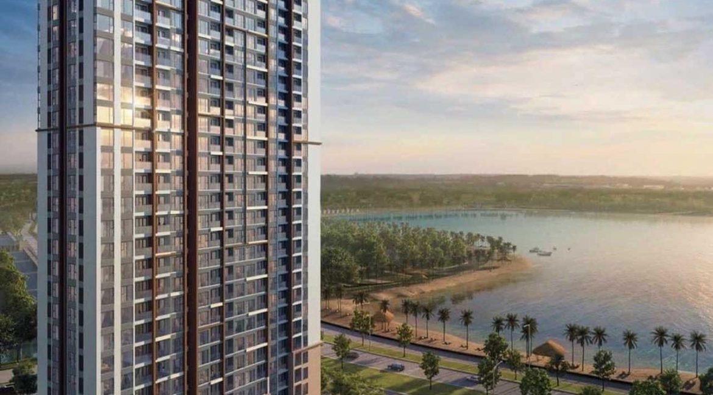 Phối cảnh căn hộ Masteri Waterfront View Biển hồ