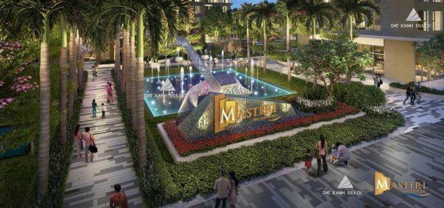 Phối cảnh Công viên nội khu Chung cư Masteri Waterfront