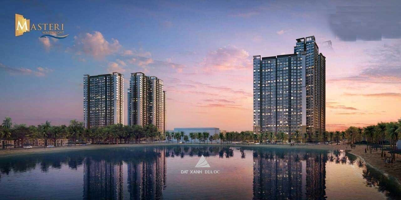 Phối cảnh tổng quan Căn hộ Masteri Waterfront - Masterise Homes