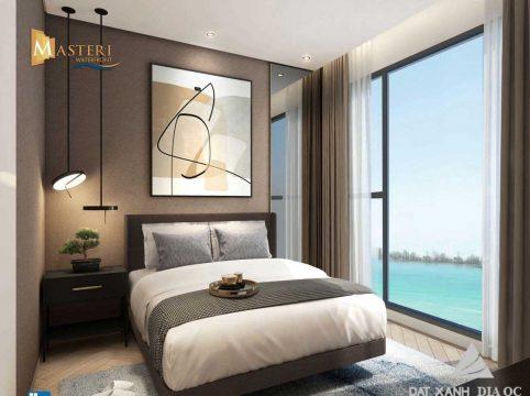 View từ phòng ngủ tại dự án Masteri Waterfront Ocean Park