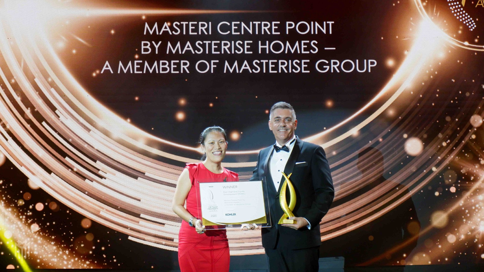 Masterise Homes nhận 8 giải thưởng lớn