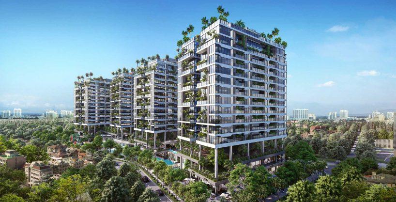 Căn hộ Sunshine green iconic Long Biên