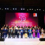 Đất Xanh Địa Ốc top 50 công ty kinh doanh hiệu quả